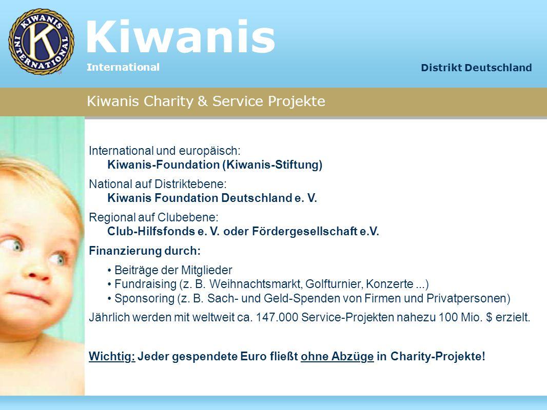 Kiwanis Kiwanis Charity & Service Projekte