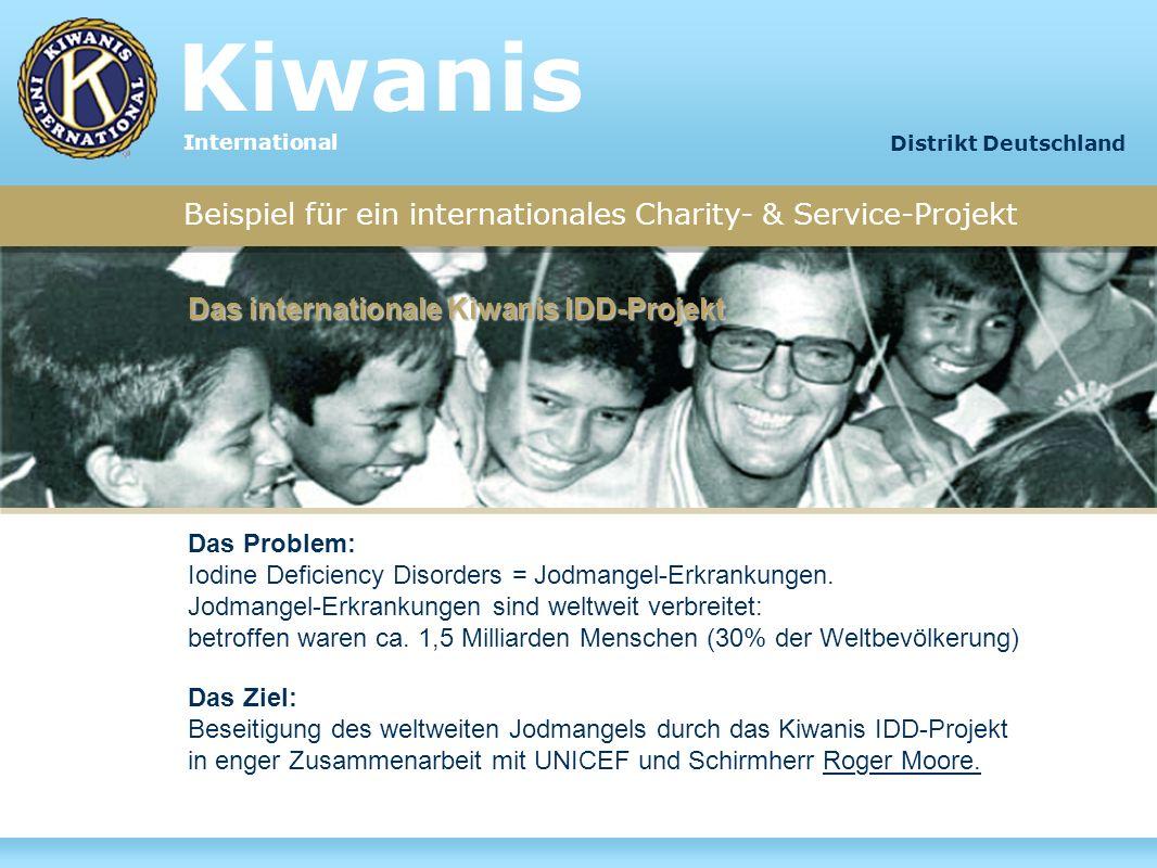 Kiwanis Beispiel für ein internationales Charity- & Service-Projekt