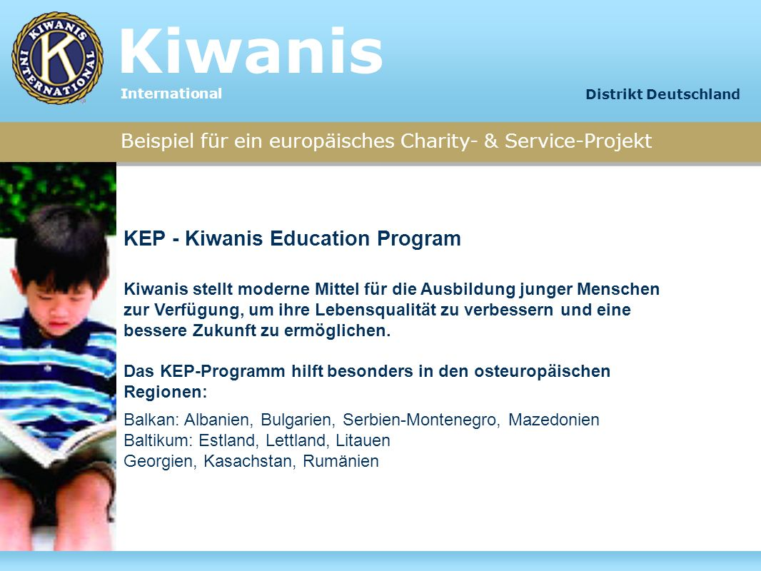 Kiwanis KEP - Kiwanis Education Program