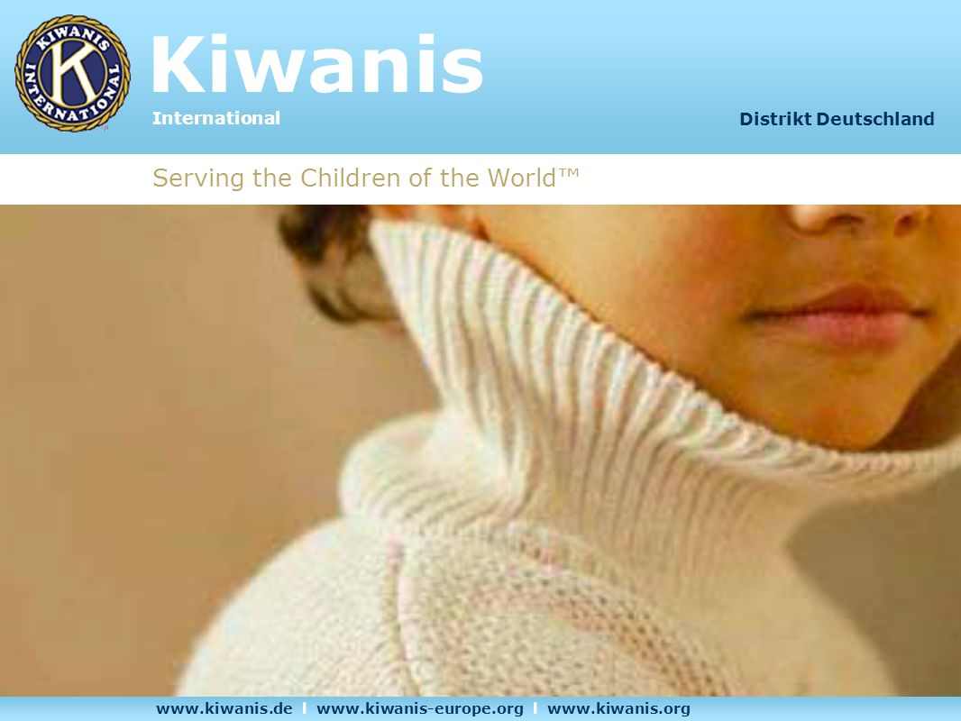 Kiwanis Serving the Children of the World™ International