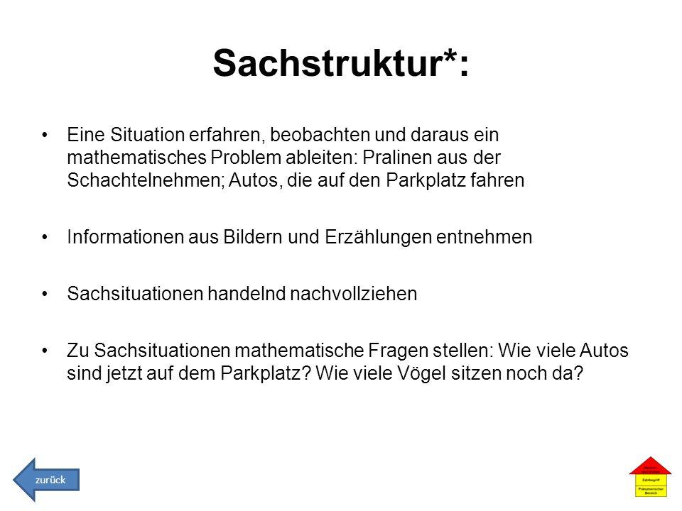 Sachstruktur*: