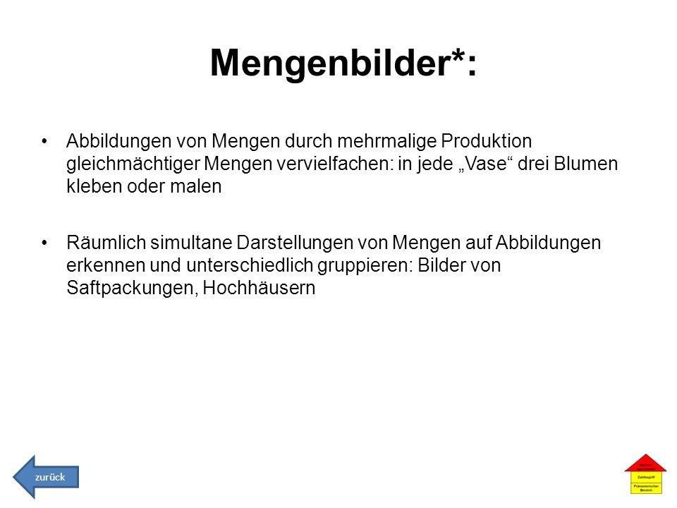 Mengenbilder*: