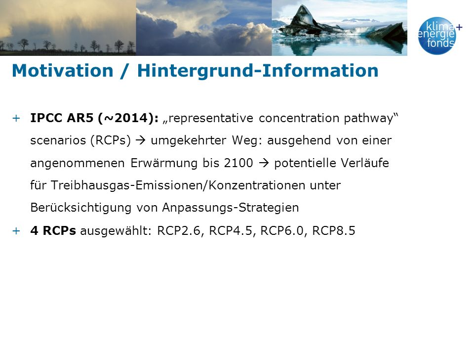 Motivation / Hintergrund-Information