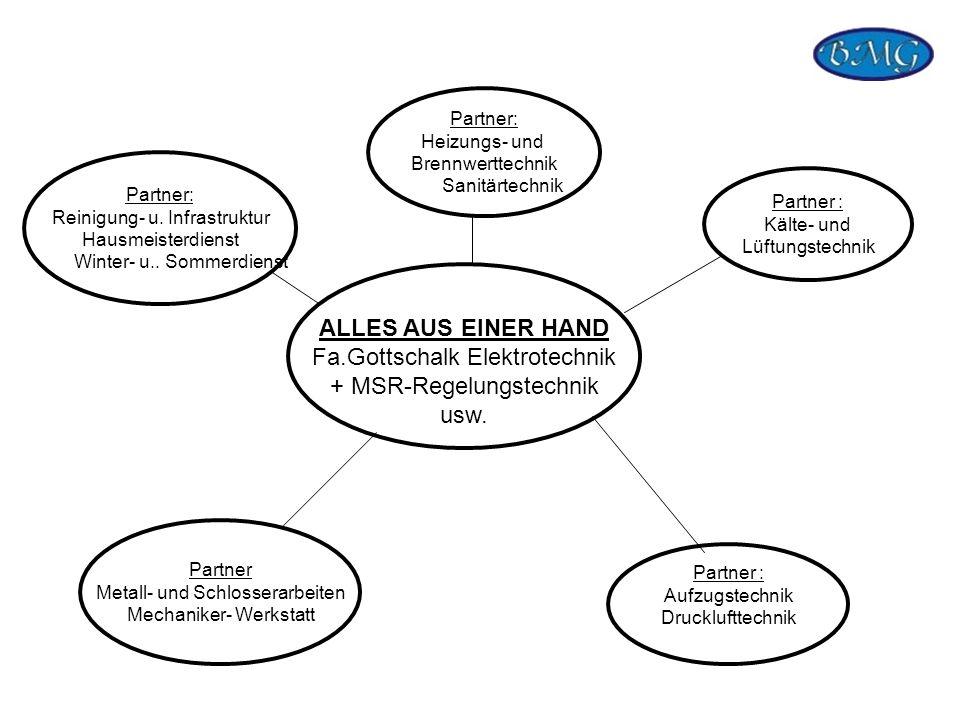Fa.Gottschalk Elektrotechnik + MSR-Regelungstechnik usw.