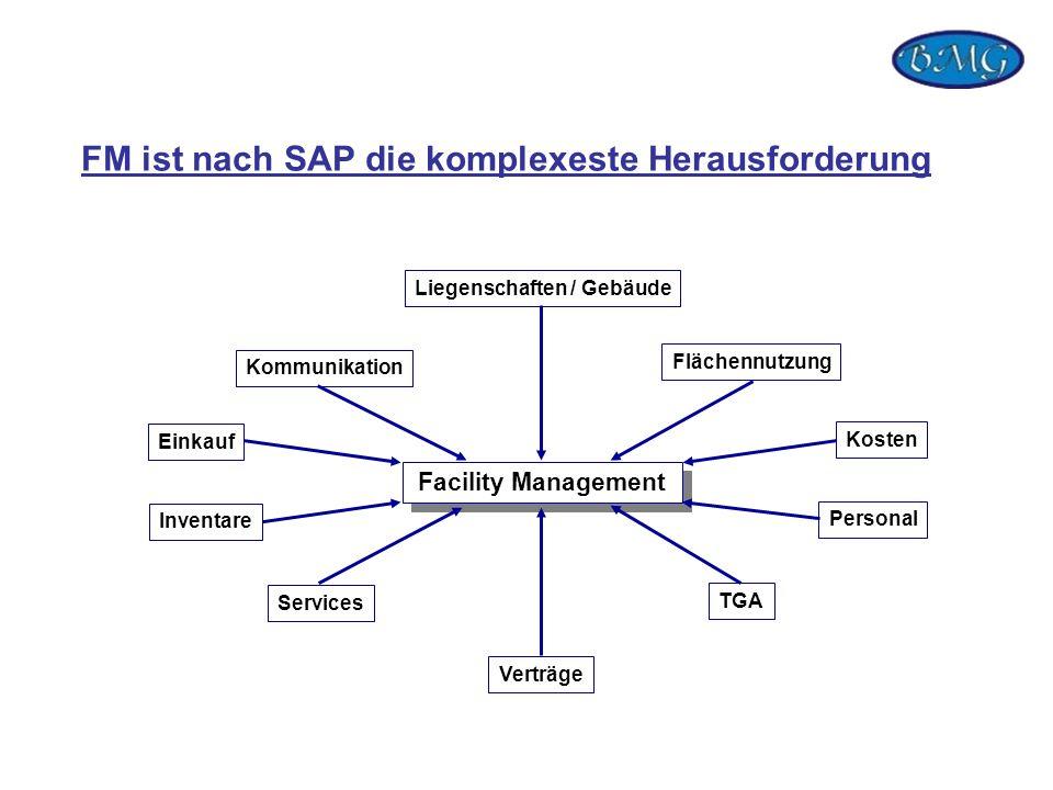 FM ist nach SAP die komplexeste Herausforderung