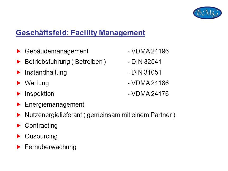 Geschäftsfeld: Facility Management