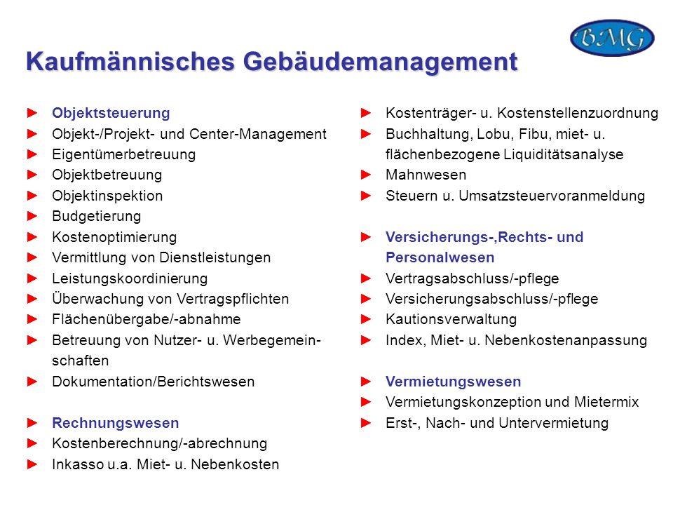 Kaufmännisches Gebäudemanagement