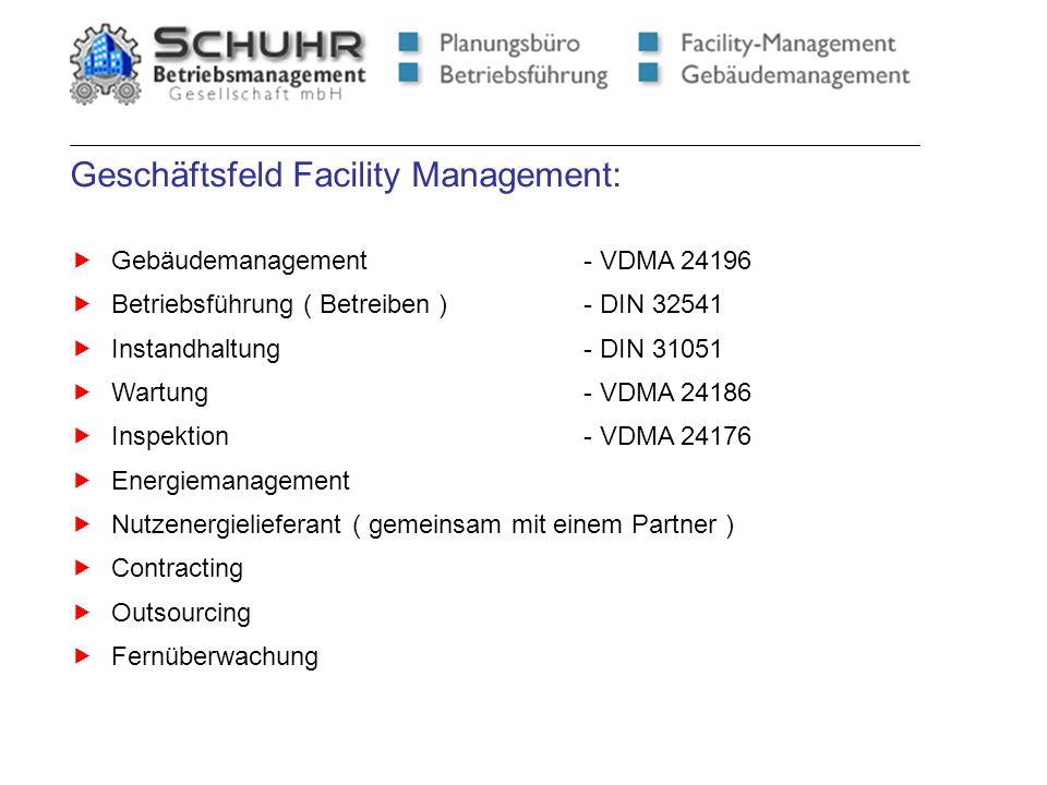 Geschäftsfeld Facility Management: