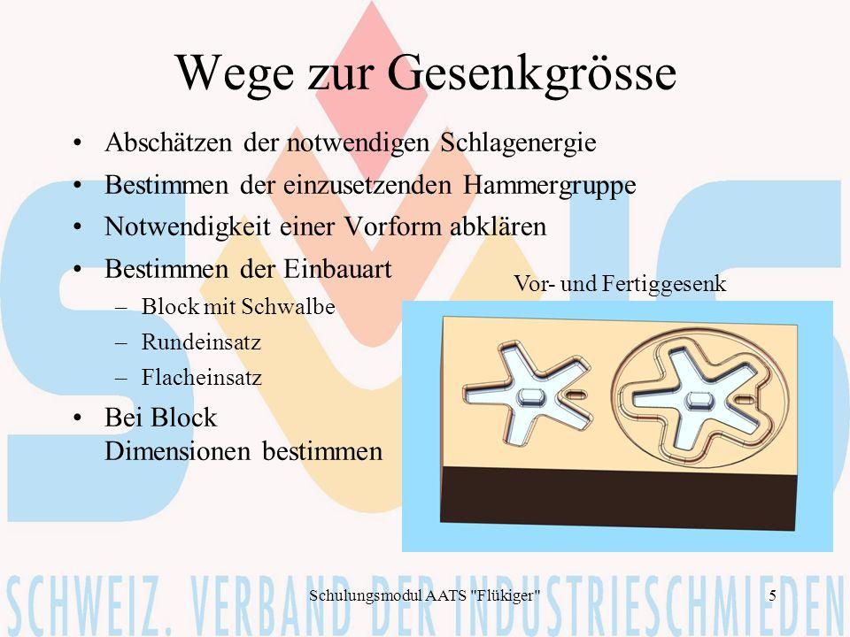 Schulungsmodul AATS Flükiger