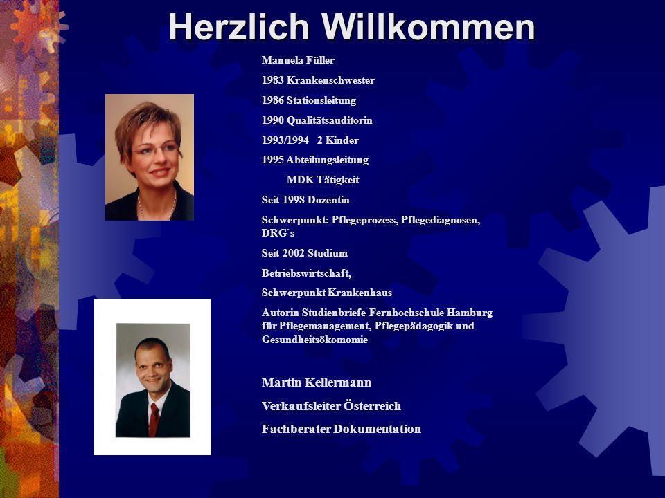 Herzlich Willkommen Martin Kellermann Verkaufsleiter Österreich
