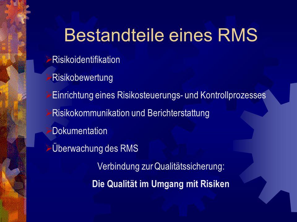 Bestandteile eines RMS