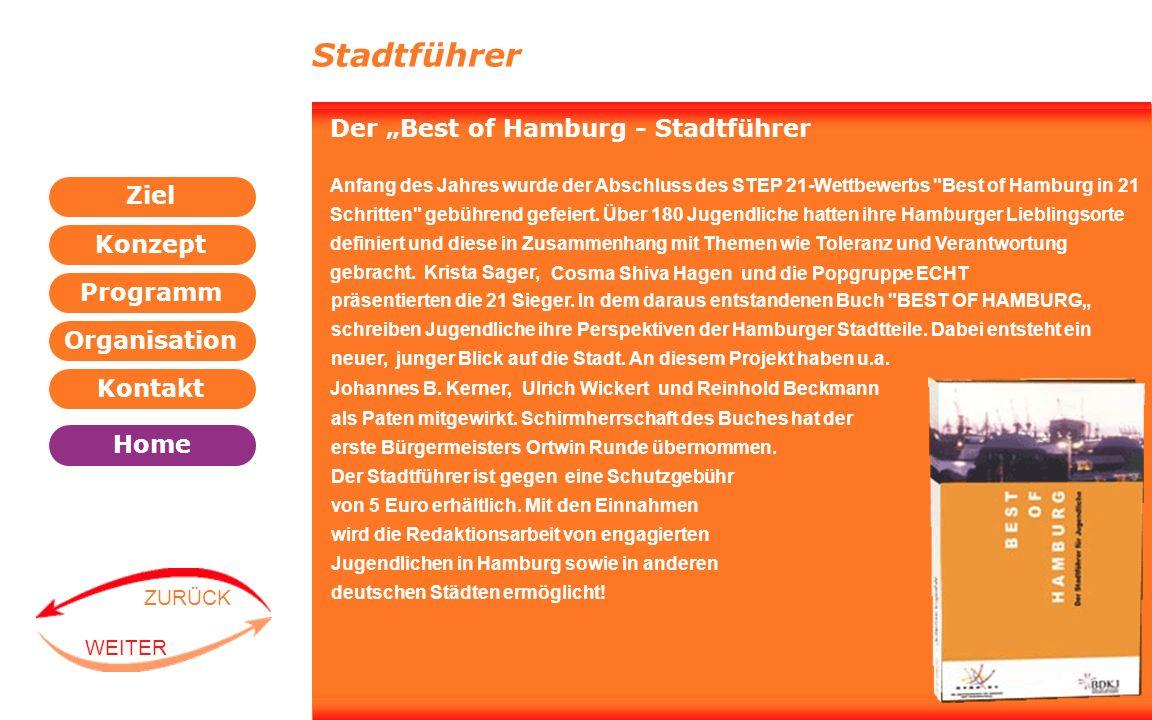 """Stadtführer Der """"Best of Hamburg - Stadtführer"""
