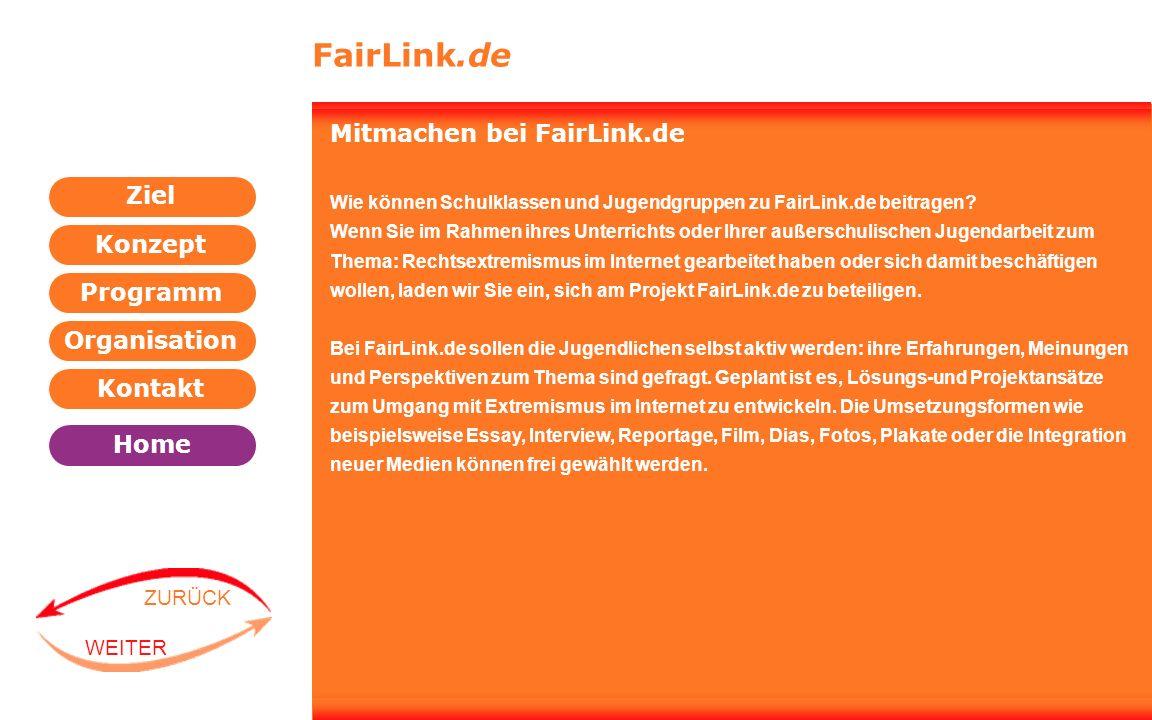 FairLink.de Mitmachen bei FairLink.de