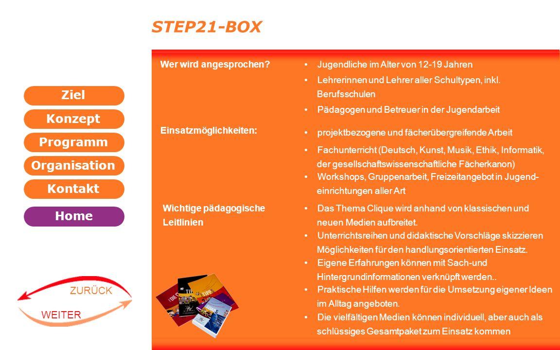 STEP21-BOX Wer wird angesprochen