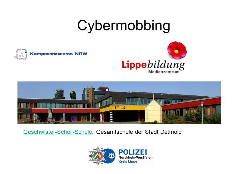 Cybermobbing Geschwister-Scholl-Schule, Gesamtschule der Stadt Detmold