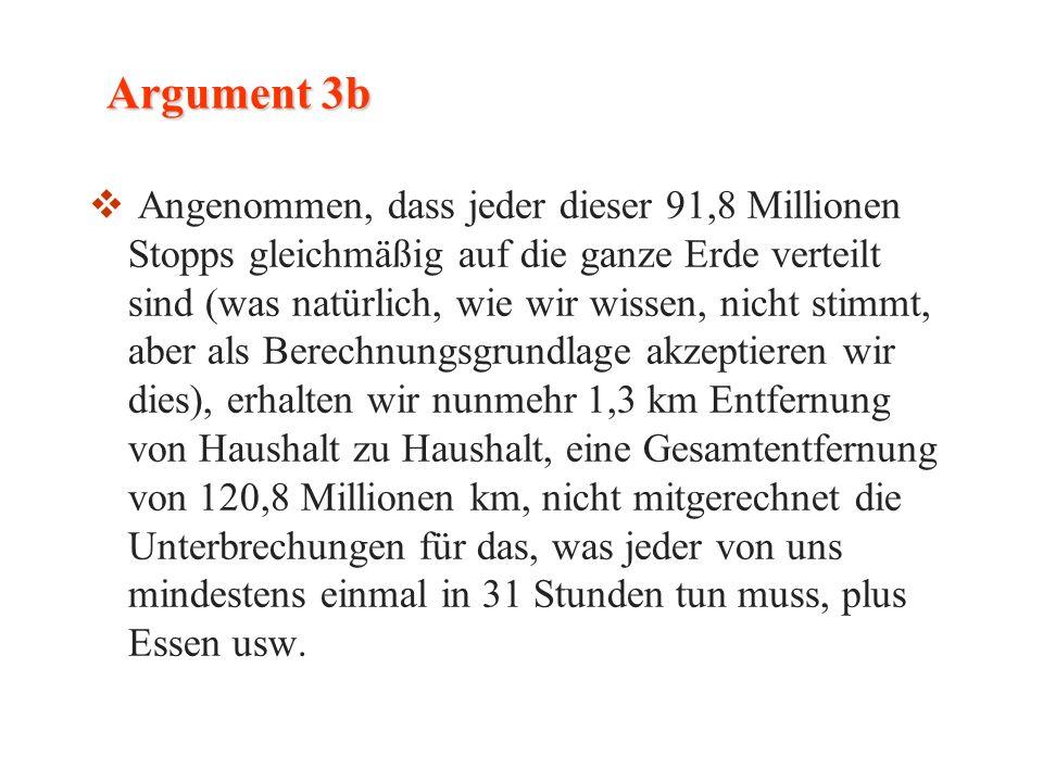 Argument 3b