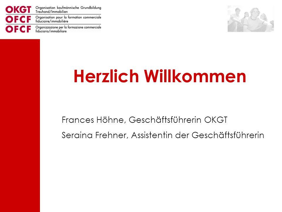 Herzlich Willkommen Frances Höhne, Geschäftsführerin OKGT