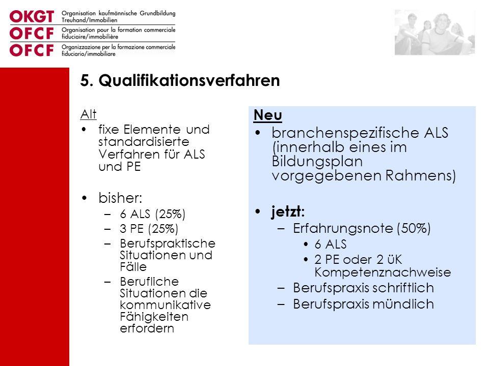 5. Qualifikationsverfahren