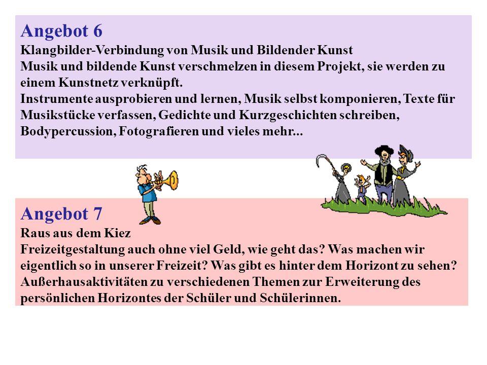 Angebot 6Klangbilder-Verbindung von Musik und Bildender Kunst.