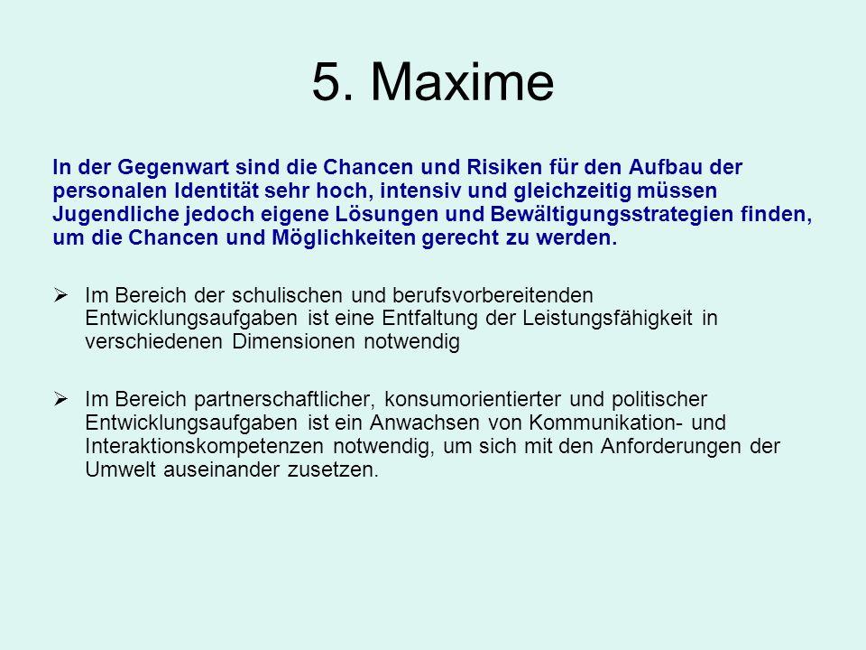 5. Maxime