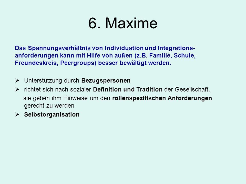 6. Maxime