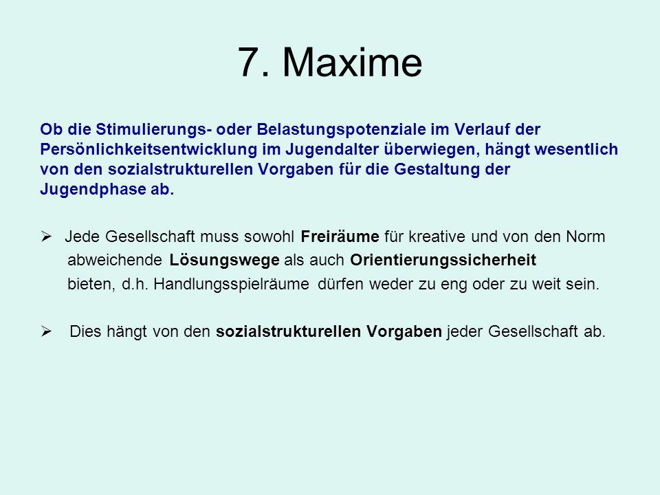 7. Maxime