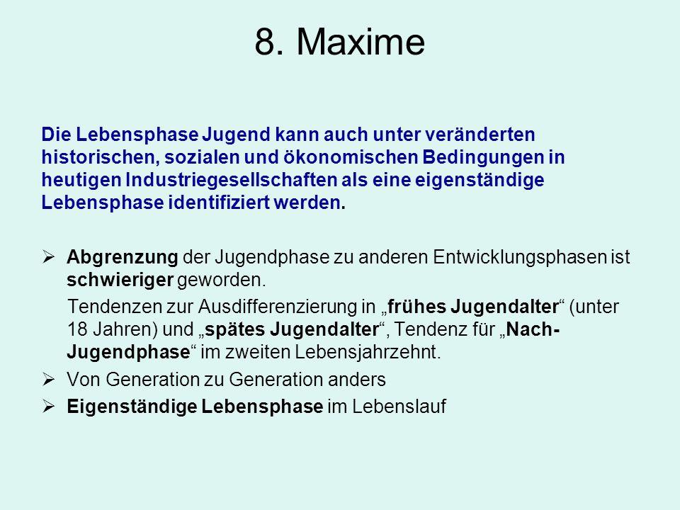 8. Maxime