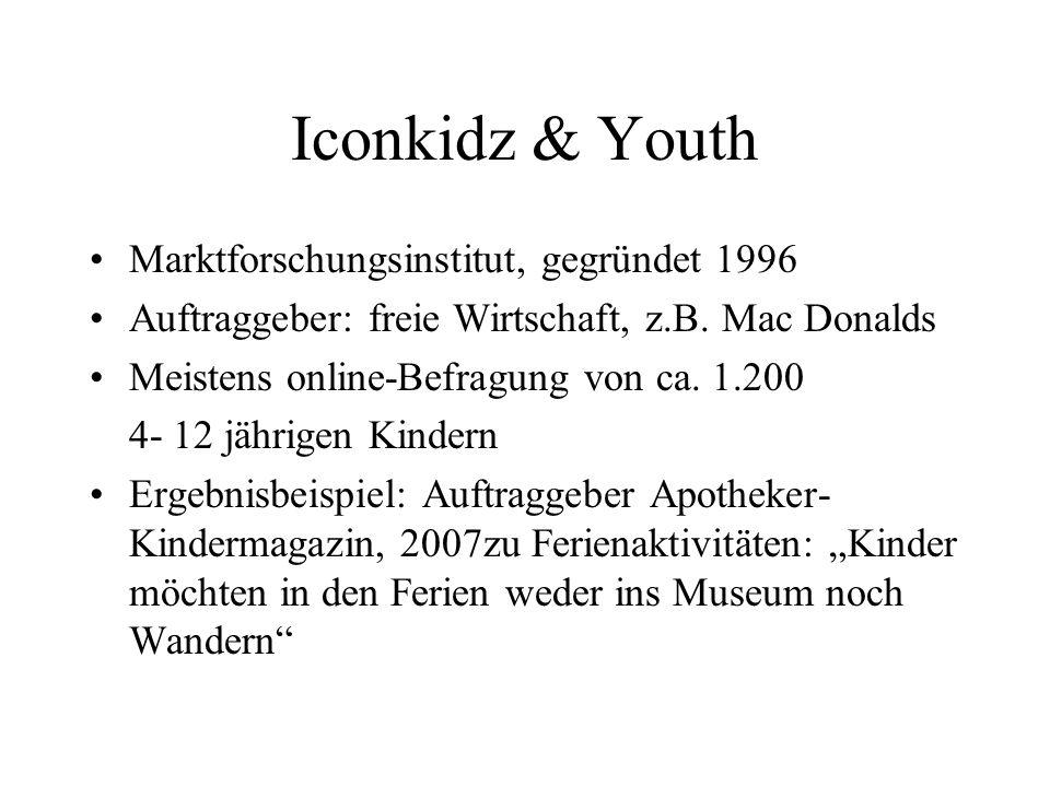 Iconkidz & Youth Marktforschungsinstitut, gegründet 1996