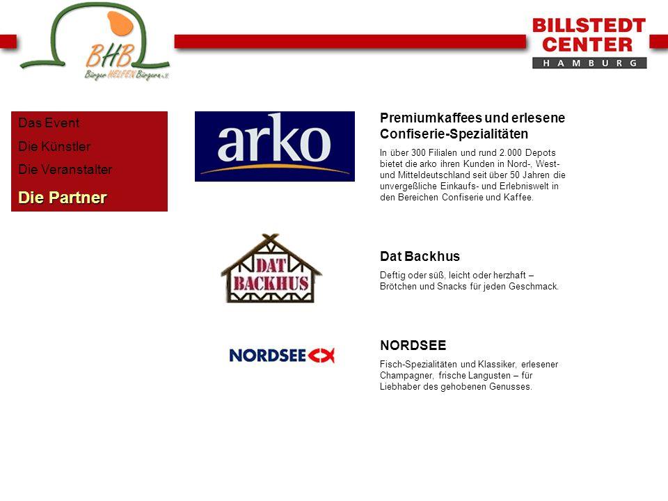 Die Partner Premiumkaffees und erlesene Confiserie-Spezialitäten