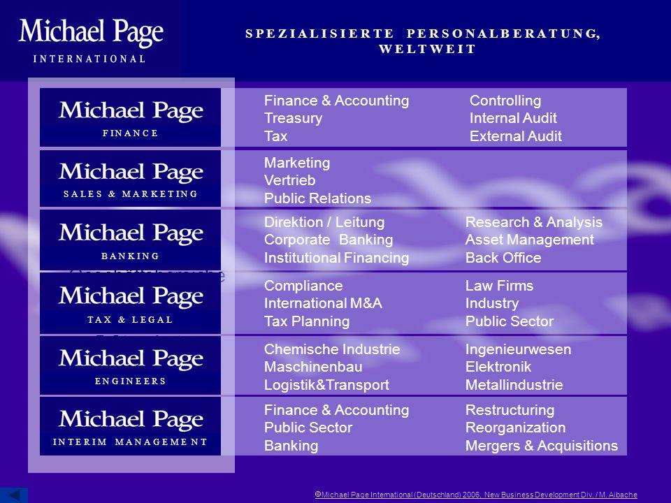 6 eigenständige Geschäftsbereiche an 5 Standorten