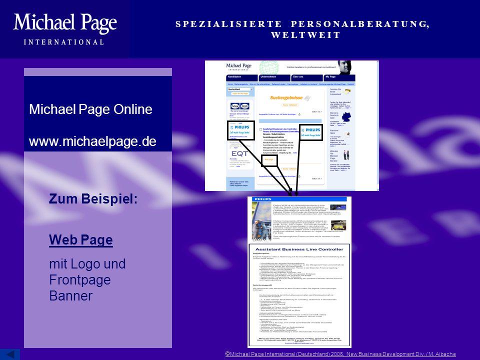 mit Logo und Frontpage Banner