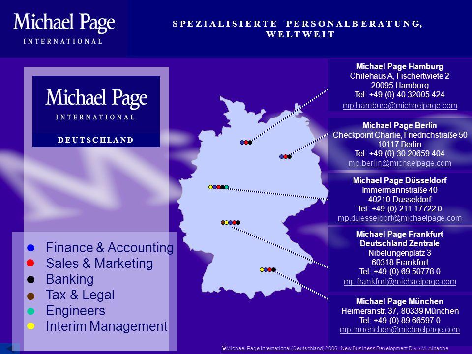 Michael Page Düsseldorf Michael Page Frankfurt