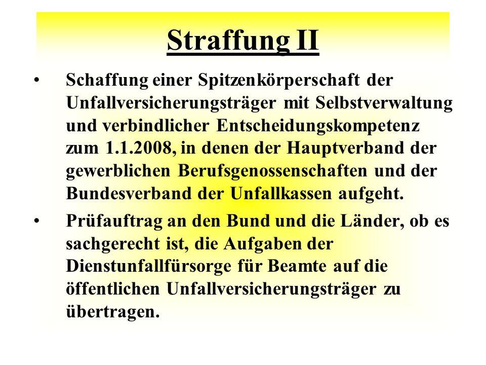 Straffung II
