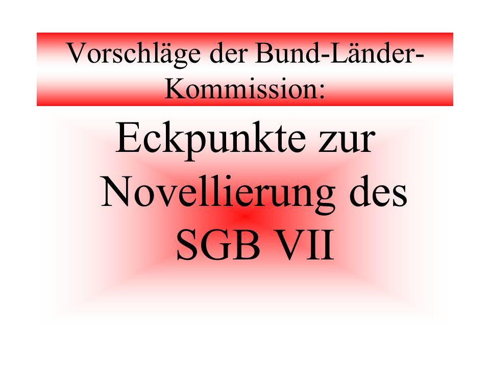 Vorschläge der Bund-Länder-Kommission:
