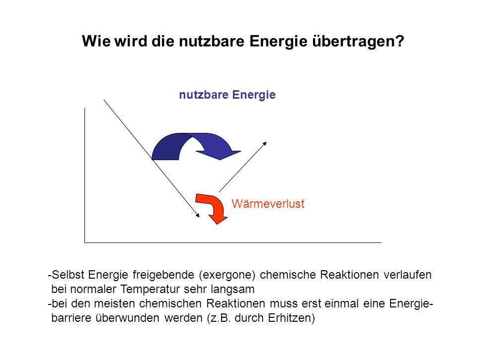 Wie wird die nutzbare Energie übertragen