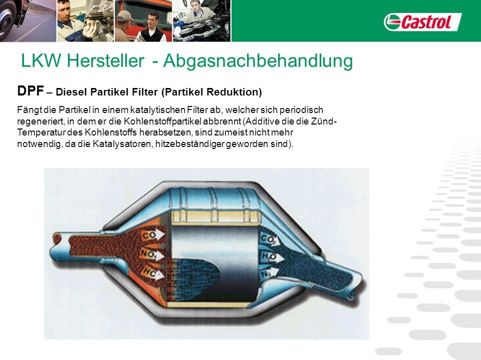 LKW Hersteller - Abgasnachbehandlung