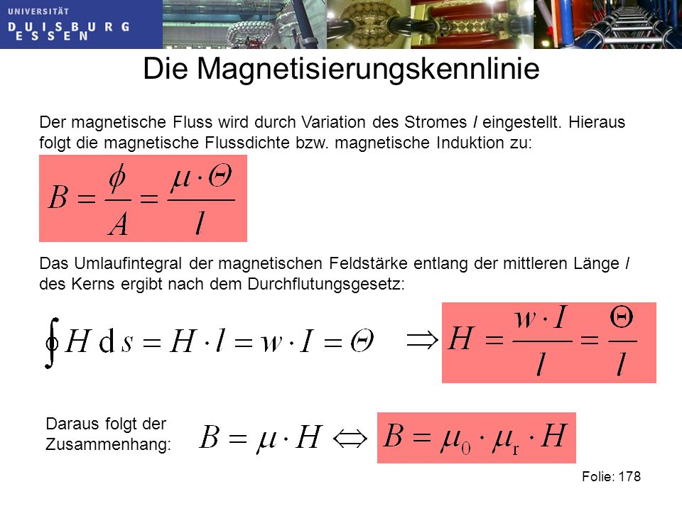Die Magnetisierungskennlinie