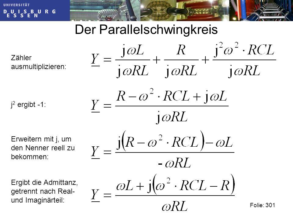 Der Parallelschwingkreis