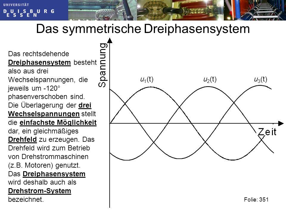 Das symmetrische Dreiphasensystem