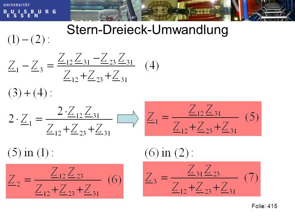 Stern-Dreieck-Umwandlung