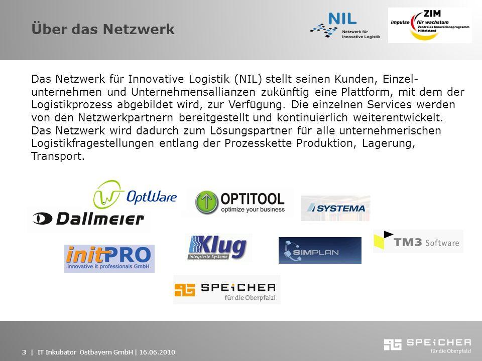 Über das Netzwerk