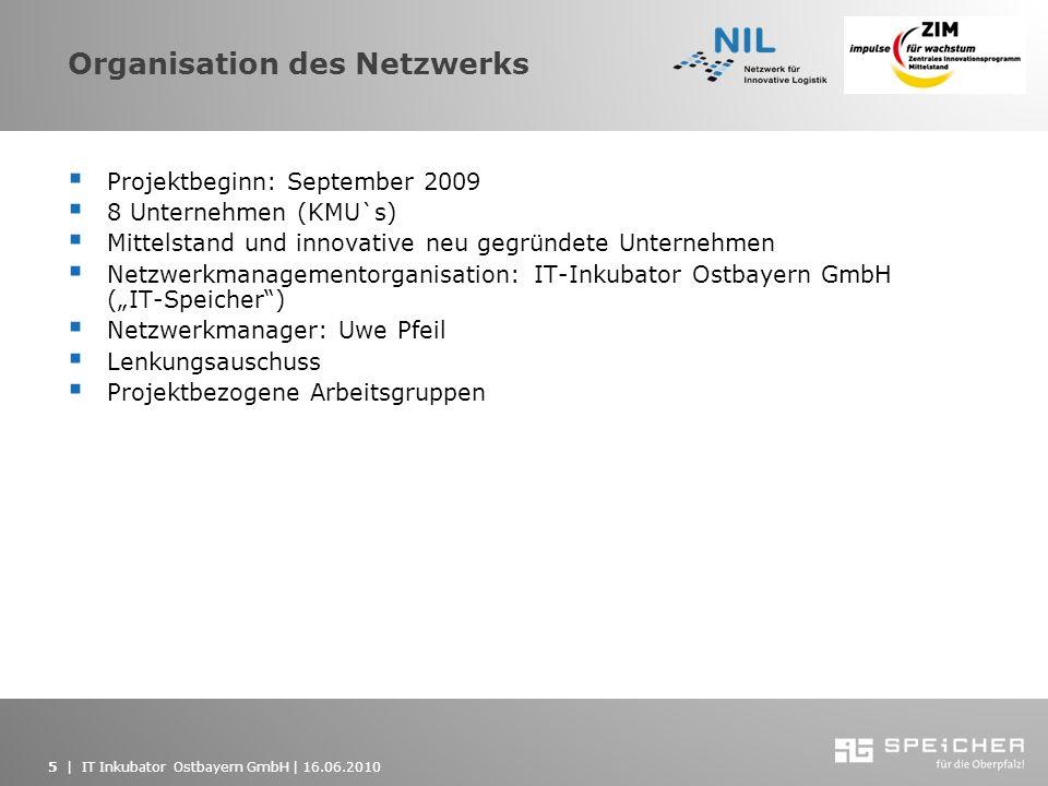 Organisation des Netzwerks