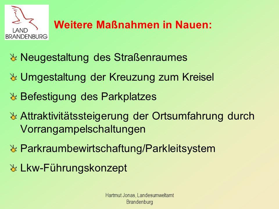Weitere Maßnahmen in Nauen: