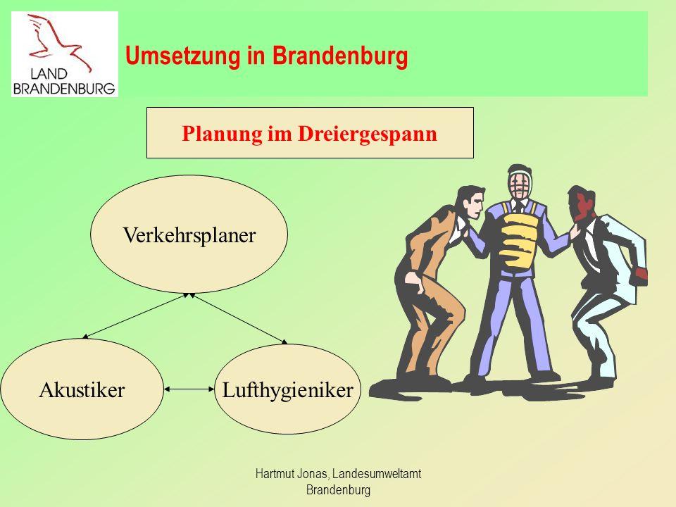 Umsetzung in Brandenburg