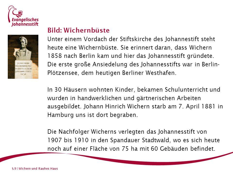Bild: Wichernbüste