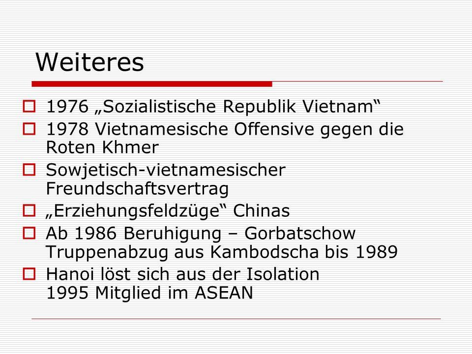 """Weiteres 1976 """"Sozialistische Republik Vietnam"""