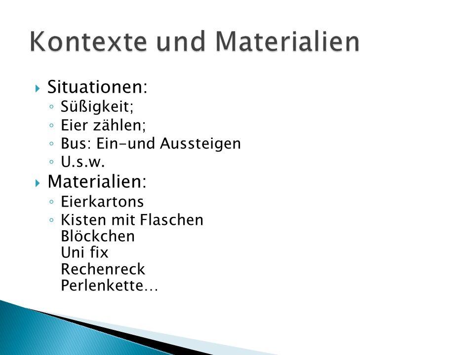 Kontexte und Materialien