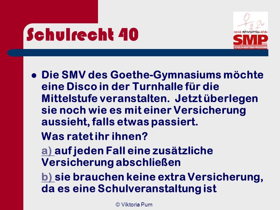 Schulrecht 40