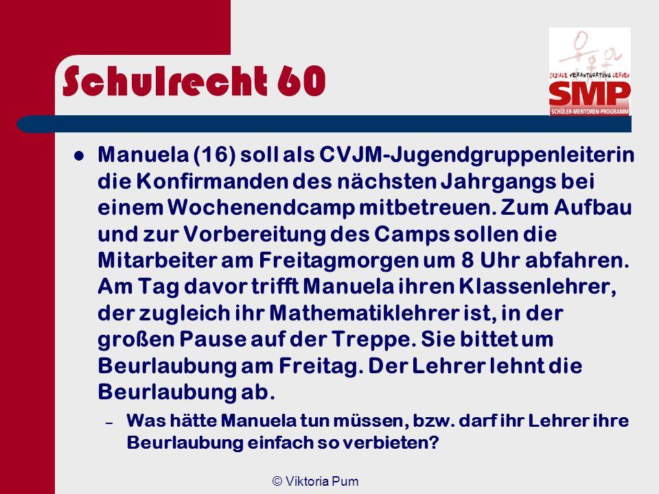 Schulrecht 60