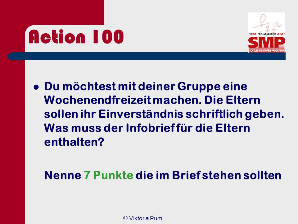 Action 100